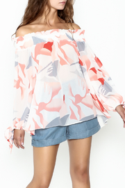 Lucy Paris Printed Blouse - Product Mini Image