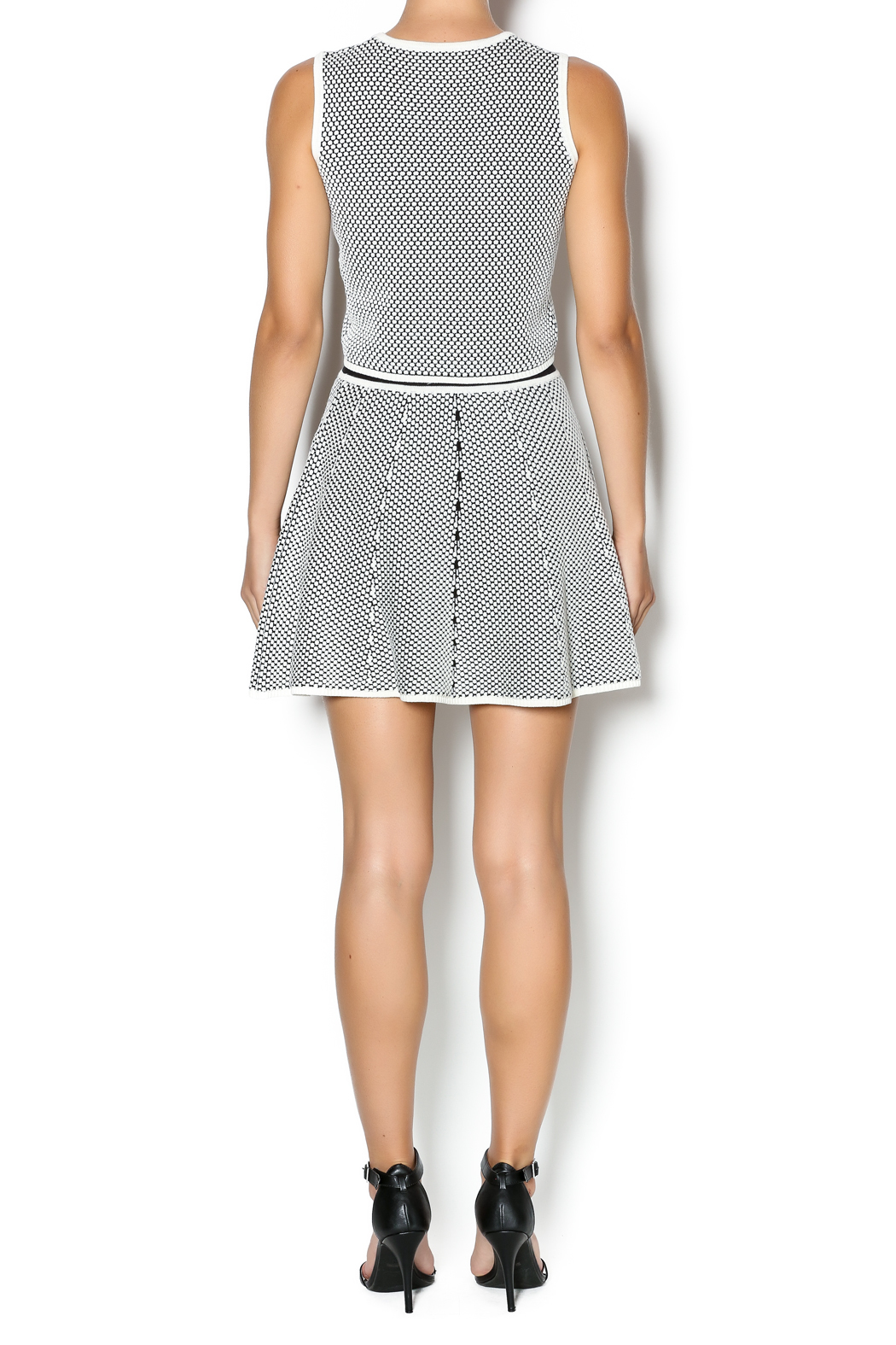 Lucy Paris Skater Skirt - Side Cropped Image