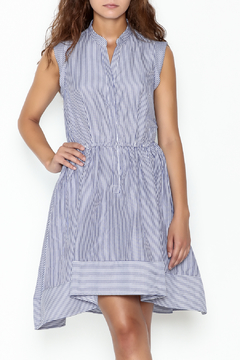 Shoptiques Product: Striped Fit & Flare Dress