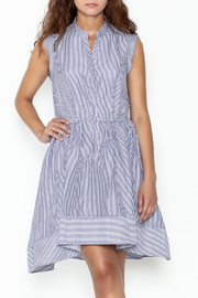 Lucy Paris Striped Fit & Flare Dress - Product Mini Image