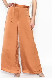 Lucy Paris Terra Cotta Pants - Front cropped