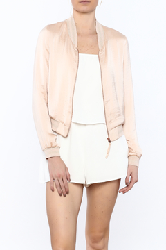 Shoptiques Product: Blush Bomber Jacket