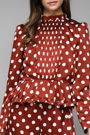 Do & Be Lucy Polka Peplum - Product Mini Image