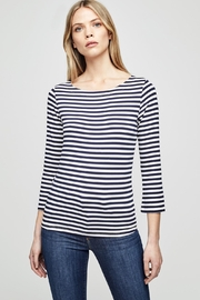 L'Agence Lucy Stripe Shirt - Product Mini Image