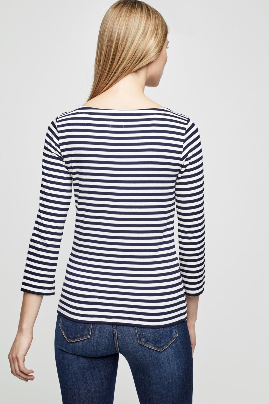 L'Agence Lucy Stripe Shirt - Side Cropped Image