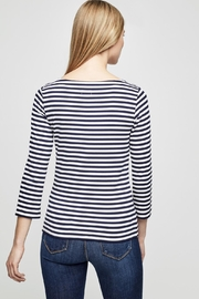 L'Agence Lucy Stripe Shirt - Side cropped