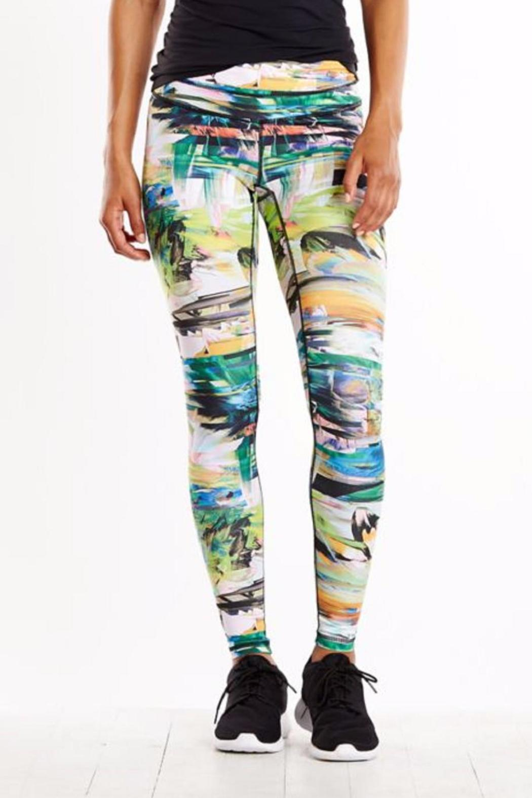 Lucy Studio Hatha Legging - Front Cropped Image