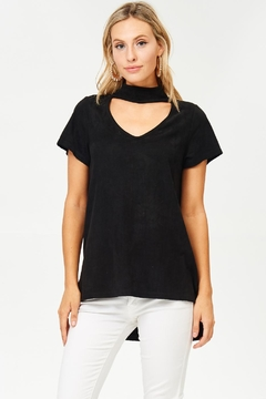 Shoptiques Product: Lucy Suede Top