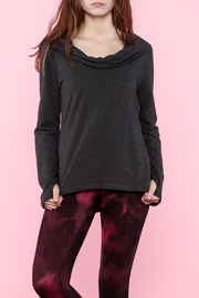 Lucy Dark Grey Pullover - Product Mini Image