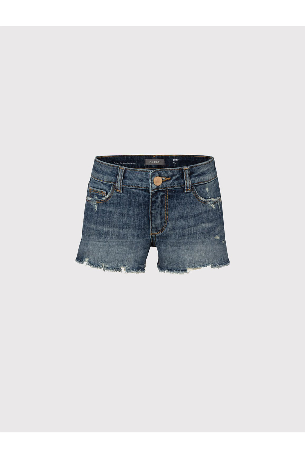 DL1961 Lucy Youth Denim Shorts - Main Image