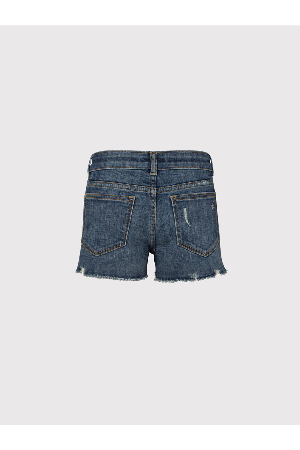 DL1961 Lucy Youth Denim Shorts - Front Full Image