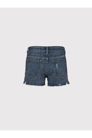 DL1961 Lucy Youth Denim Shorts - Front full body