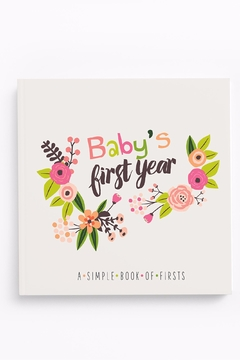 Shoptiques Product: Baby's First Memory Book