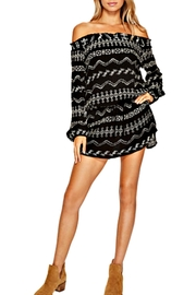Lucy Love Black Indies Dress - Product Mini Image