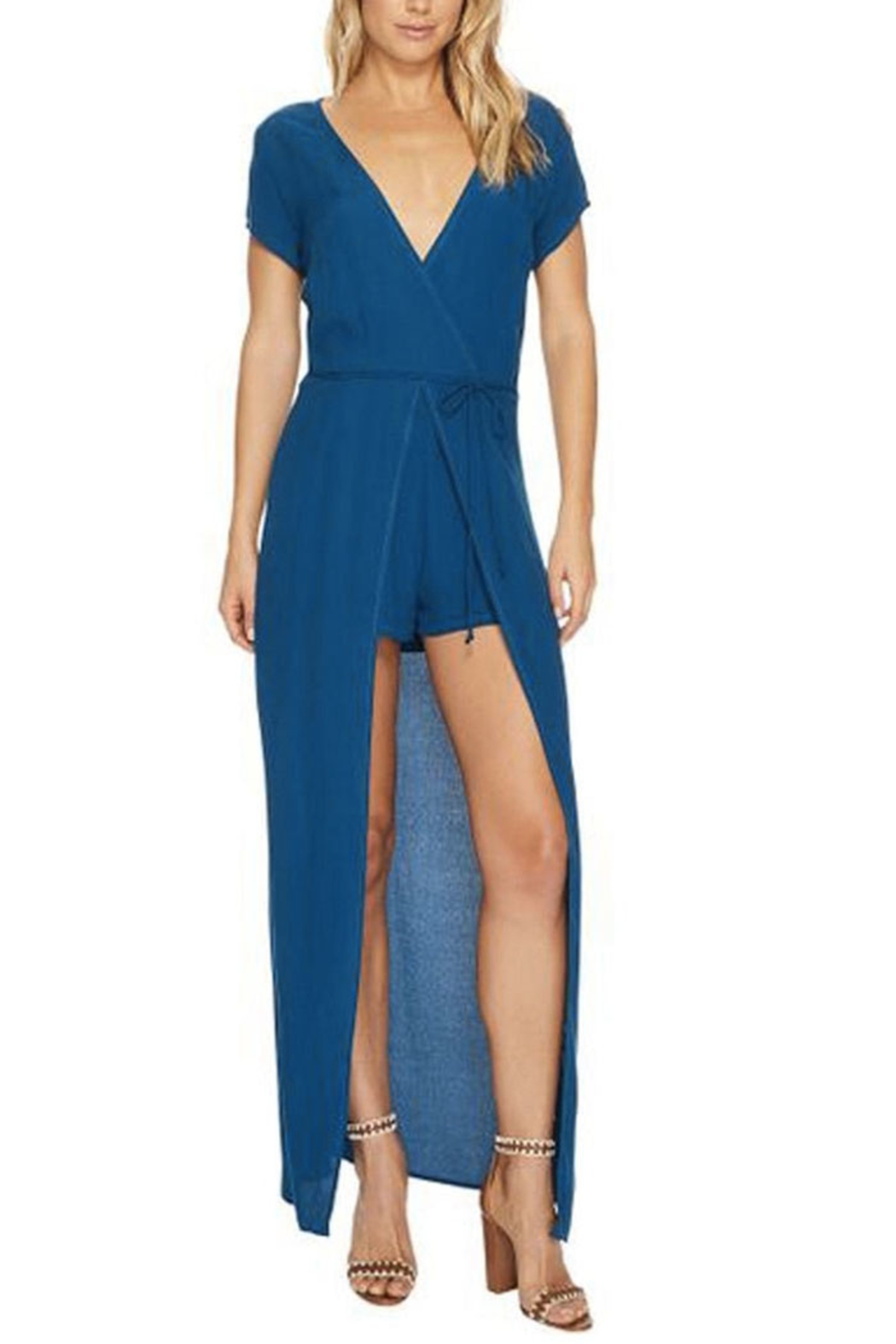 Lucy Love Lapis Romper Dress - Main Image