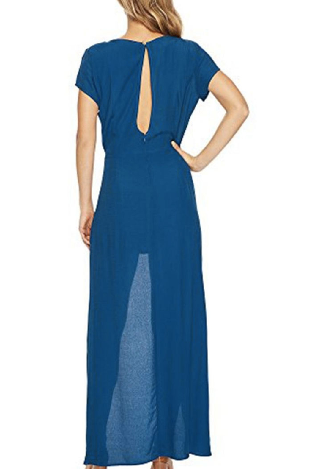 Lucy Love Lapis Romper Dress - Back Cropped Image
