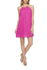 Lucy Love Pink Mini Dress - Front cropped