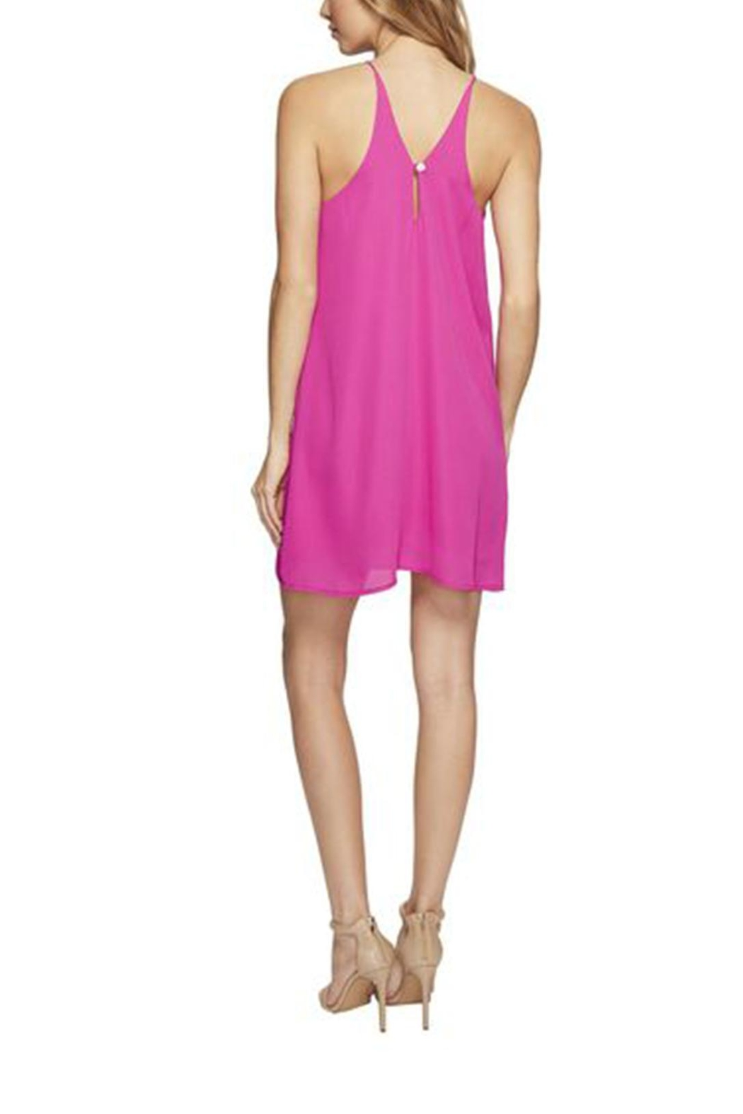 Lucy Love Pink Mini Dress - Side Cropped Image