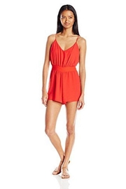 Lucy Love Tie Back Romper - Front cropped