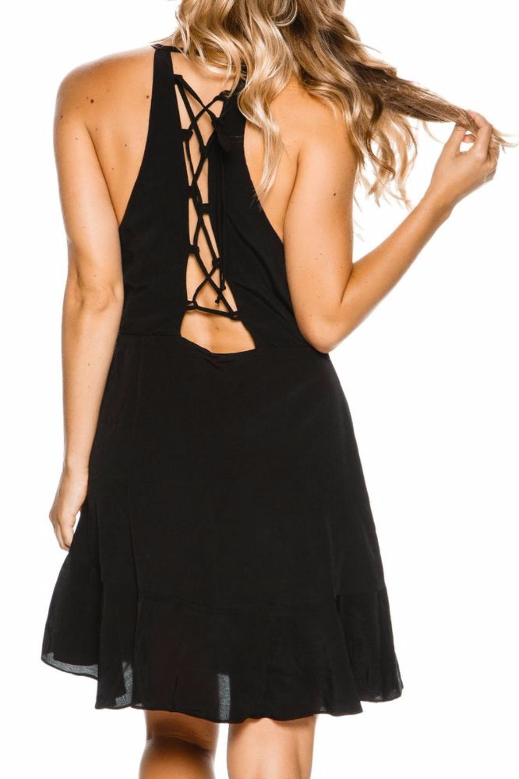 Lucy Love Up All Night Dress - Side Cropped Image