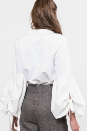 Lucy Paris Bubble Sleeve Blouse - Side cropped