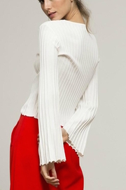 Lucy Paris Flare Sleeve Sweater - Product Mini Image
