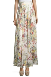 Lucy Paris Garden Print Skirt - Front full body