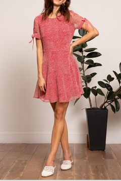Lucy Paris Red Cynthia Dress - Product List Image
