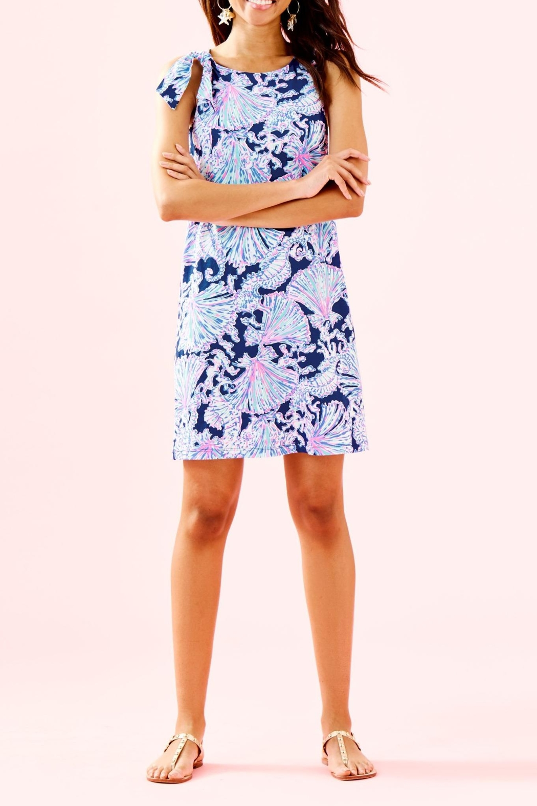 Lilly Pulitzer Luella Dress - Side Cropped Image
