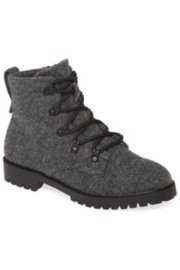Band Of Gypsies Lug sole heather wool boot - Front cropped