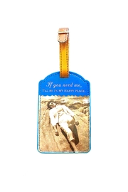 Shannon Martin Luggage Tag - Front cropped
