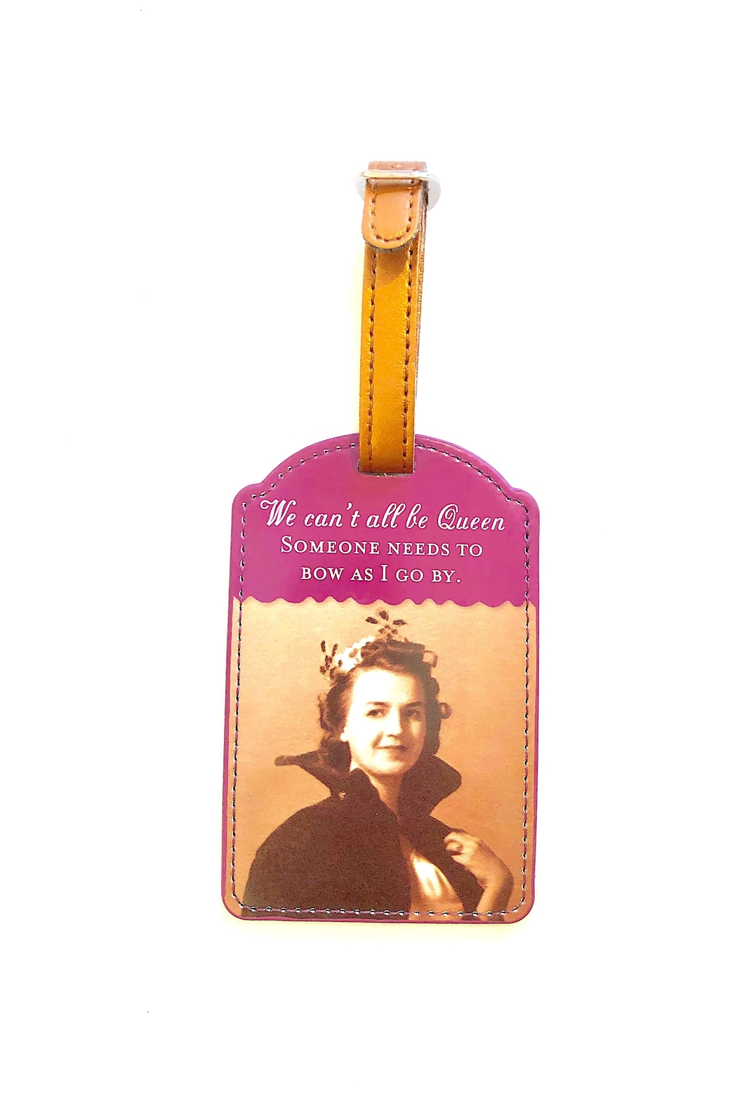 Shannon Martin Luggage Tag - Front Cropped Image