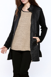 Luii Quilted Long Jacket - Product Mini Image