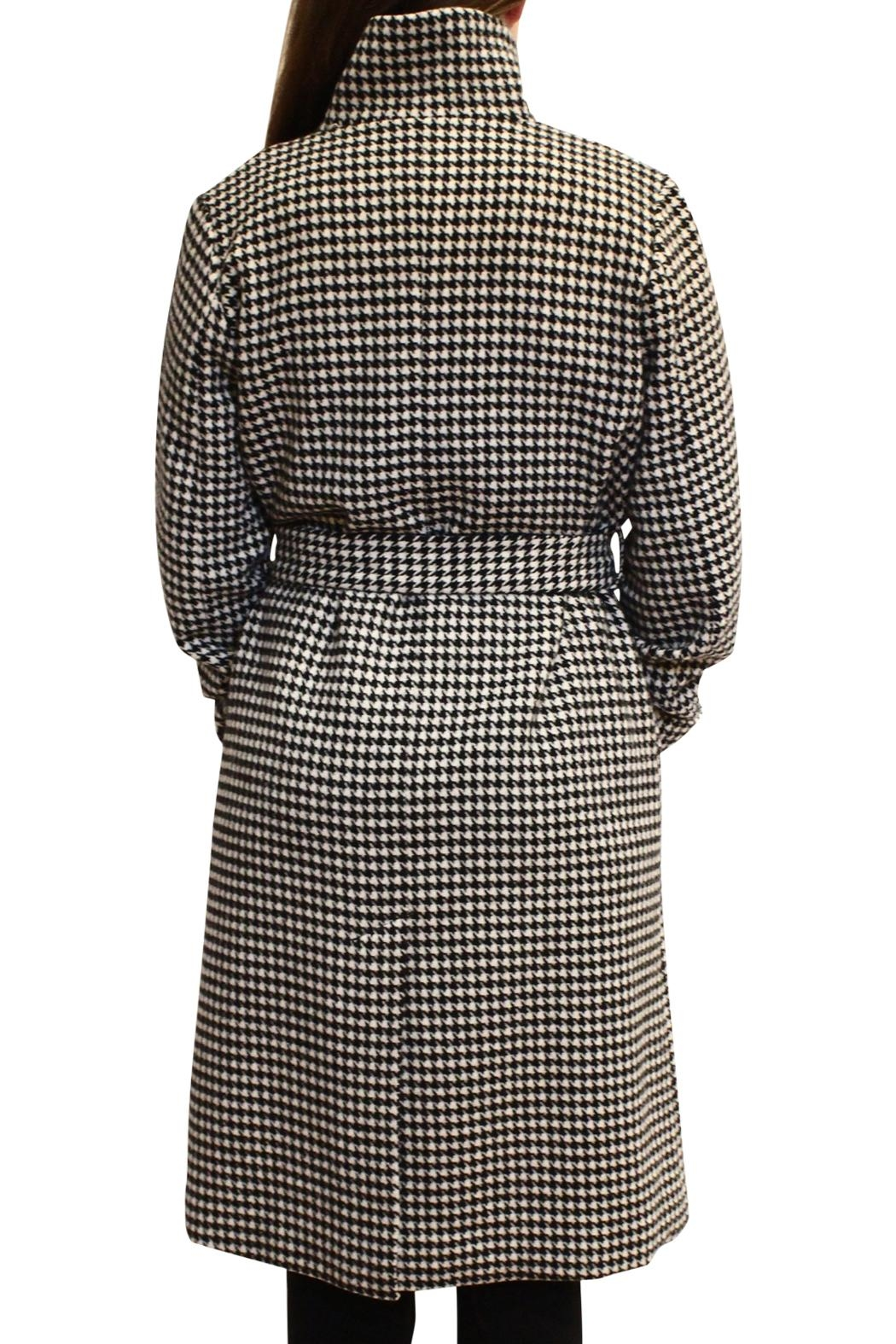 Luii Houndstooth Coat - Side Cropped Image