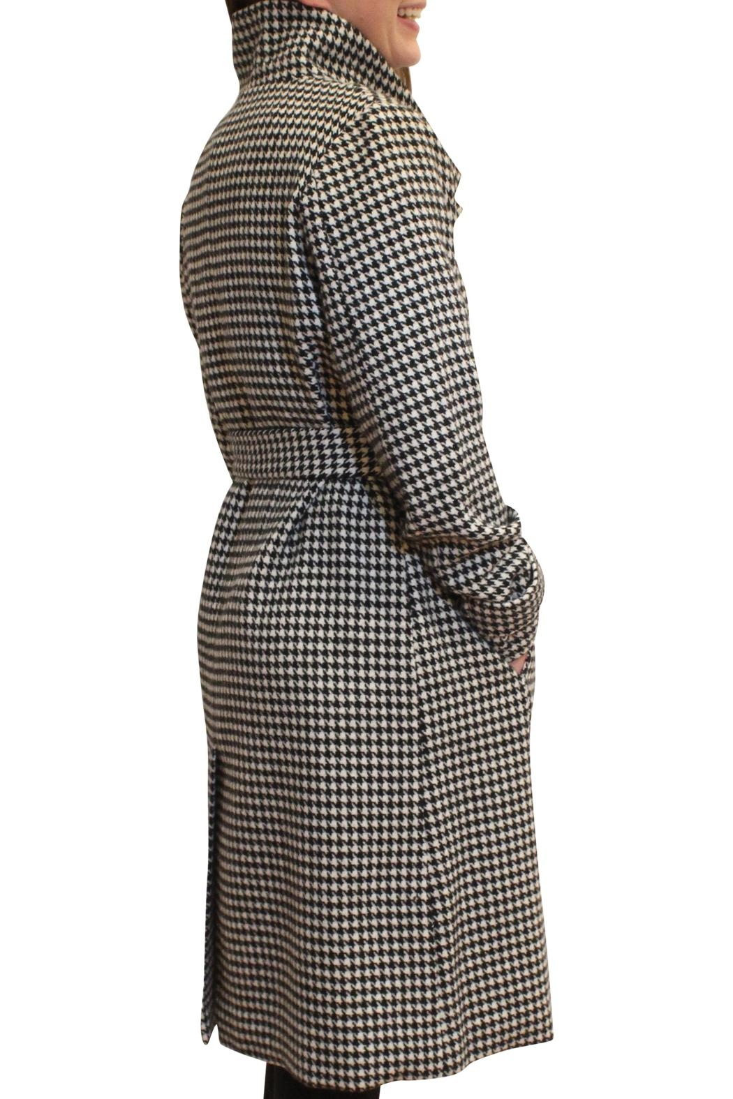 Luii Houndstooth Coat - Front Full Image