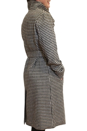 Luii Houndstooth Coat - Front full body