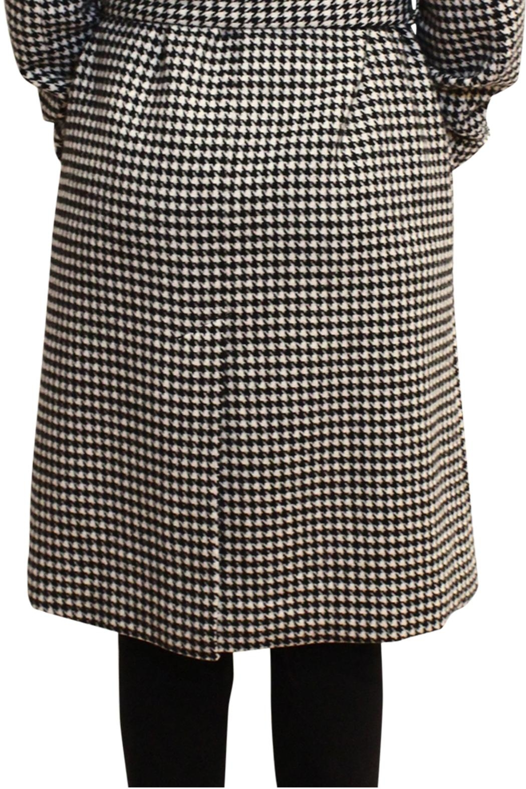 Luii Houndstooth Coat - Back Cropped Image