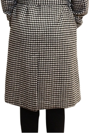 Luii Houndstooth Coat - Back cropped