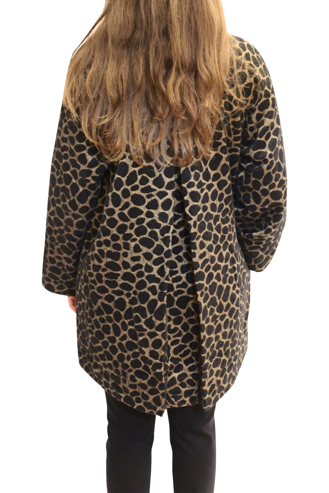 Luii Leopard Jacket - Side Cropped Image