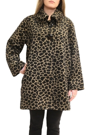 Luii Leopard Jacket - Front full body