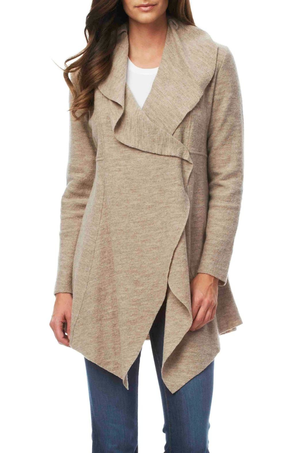 Luii Long Wool Coat - Main Image