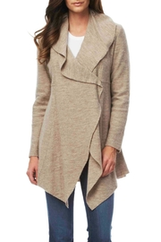 Luii Long Wool Coat - Front cropped