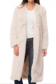 Luii Plush Duster Coat - Product Mini Image