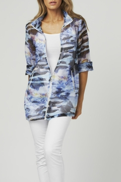 Shoptiques Product: Sheer Blue Anorak