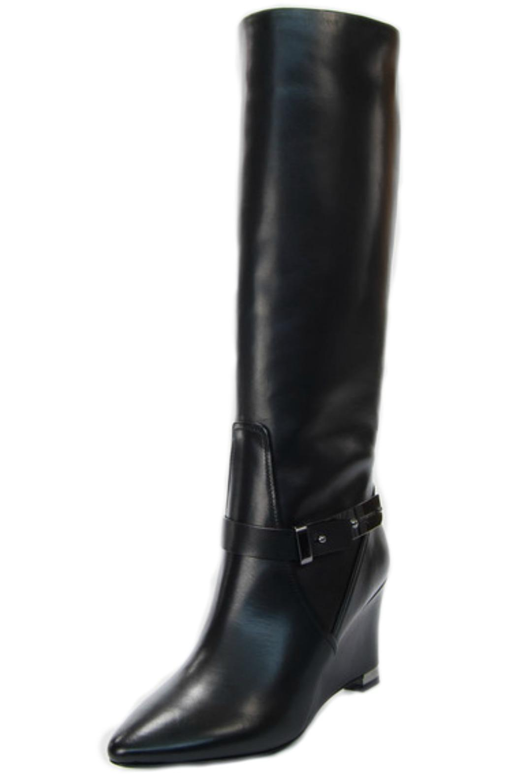 Luis Onofre Black Wedge Boot - Main Image