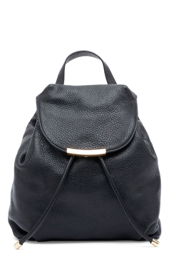 Shoptiques Product: Black Leater Backpack