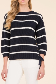 Luisa Spagnoli Side Tie Pullover Top - Product List Image