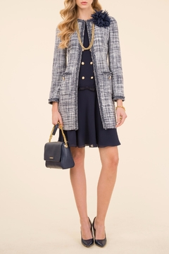 Luisa Spagnoli Voi Boucle Coat - Alternate List Image