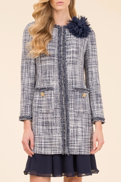 Luisa Spagnoli Voi Boucle Coat - Product List Image