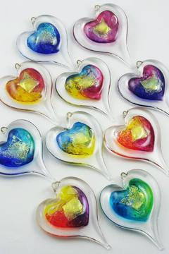 Shoptiques Product: Glass Heart Ornament